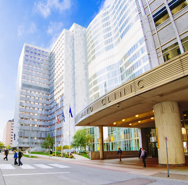 Direct access to Mayo Clinic